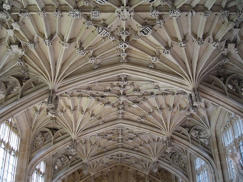 Ceiling of the Divinity School at the Bodleian Library Oxford