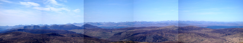 north from creag megaidh combined