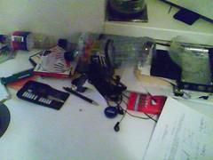 razmetana miza