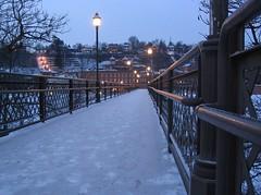 Galena's Grant Park Pedestrian Bridge
