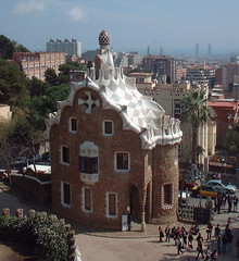 Goudy's Parc Guell in Barcelona