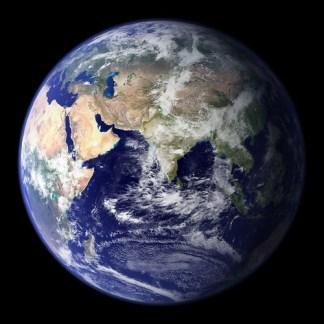 La terre - Photo : NASA, earthobservatory.gov
