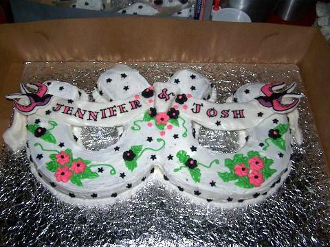 wedding cake~ rockabilly style