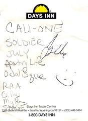 decemberists - mayday setlist