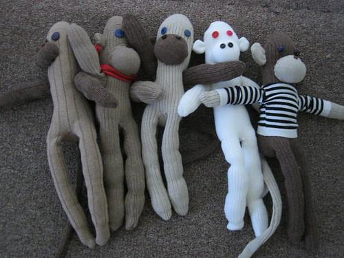 Sock Monkeys!