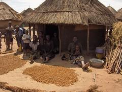 Residents at Acholibur IDP Camp