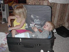 One way to save on high airline ticket prices.