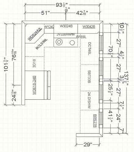 Kitchen floorplan