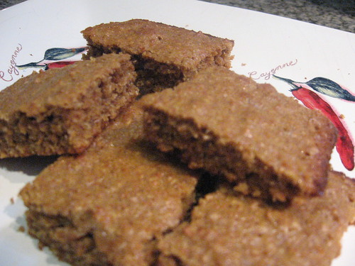 whole wheat squares with coconut