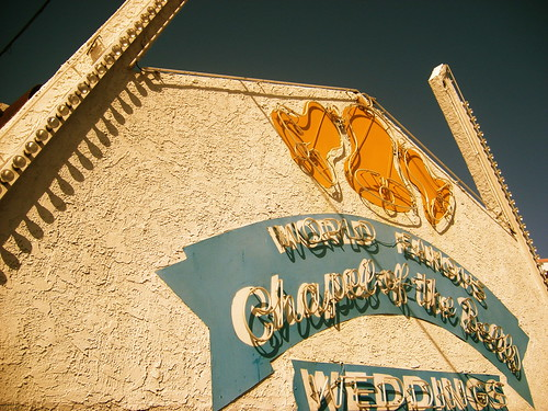 World Famous Chapel of the Bells Wedding, Las Vegas