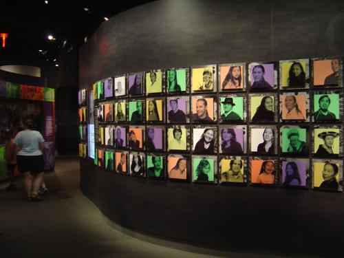 Many faces, one people, NMAI, Washington, DC