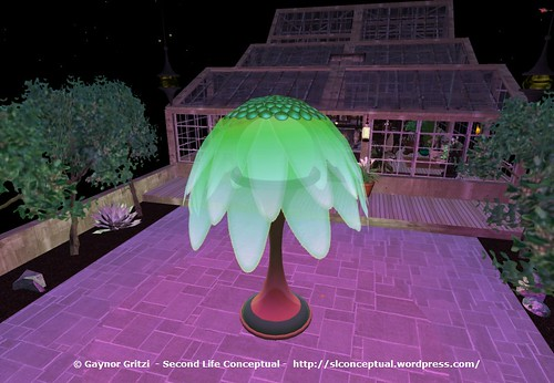 FlowerTree Light Lawn Ornament 006