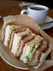 ごまみそカツサンド@SolaをCafe New Classicでいただく(松山市祝谷)