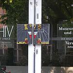 Tür am Lübecker Archiv