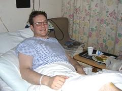 Patrick in bed