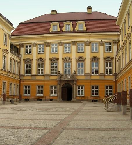 Zamek Królów Pruskich we Wrocławiu (Königliches Schloß zu Breslau )