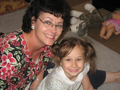 Haven and her Nana G.