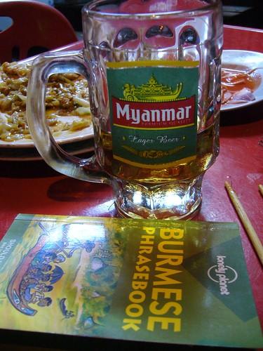 Burma beer