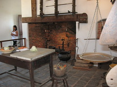 Mount Vernon cooking area