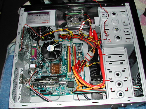 Guts of the new PC