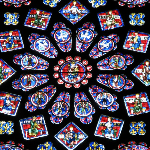 Chartres Cathedral — rose window