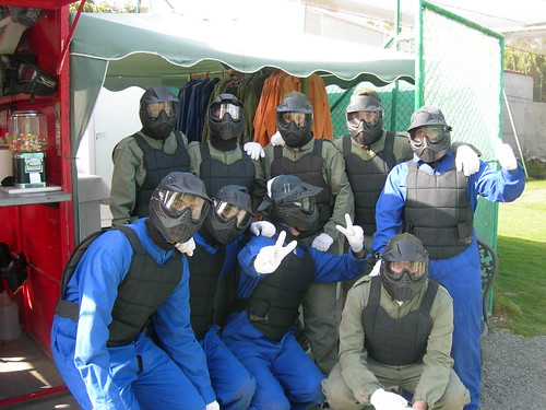 Grupo paint ball cumple patri 07
