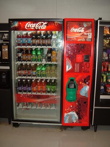 Paul D Camp Soda Machine (No. 4 in a series)