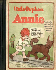 Little Orphan Annie Is About To Get Eaten