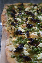 Pea Pesto Pizza 1