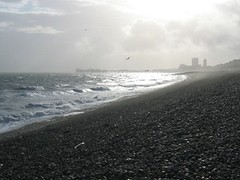 Brighton beach October 2002