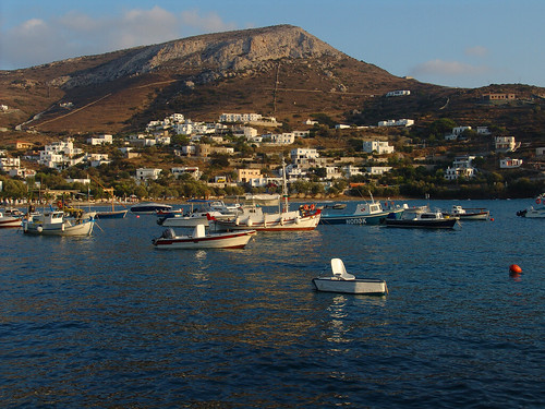 View of Kini, Syros