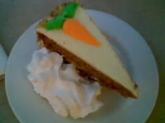 Carrot Cake View from Above