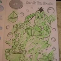 珮岑的畫_驢子愛洗澡著色