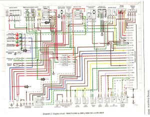 Bmw r1150r electrical wiring diagram