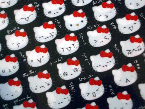 Charmmy Kitty Stickers · Hello