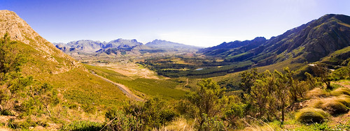 Franschhoek Valley Panorama