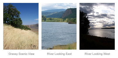 Columbia River Gorge Scenic Views