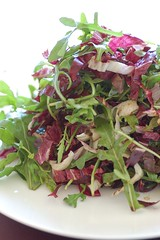 rocket &radicchio salad