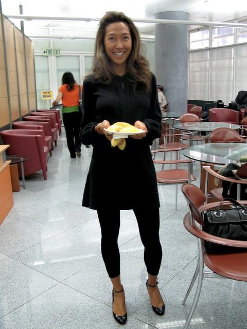 Carla at PAL lounge