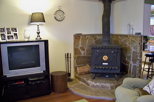 Hearth and entertainment center