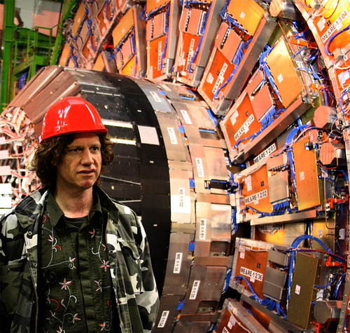 Chris Morris at CERN