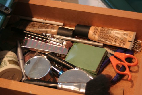 Makeup drawer