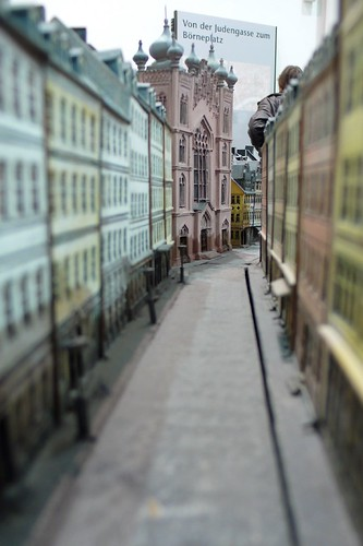 Model of the Judengasse (by guenther73 at flickr)
