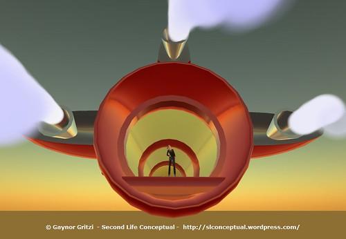 Retro Rocket Ship Disaster - Maiden Flight Crash 012