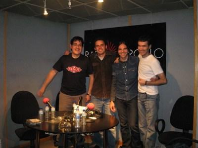Con Jairo y Javi de La Vacazul