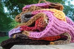 pile of garter