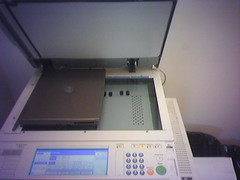 Testing the New Photocopier