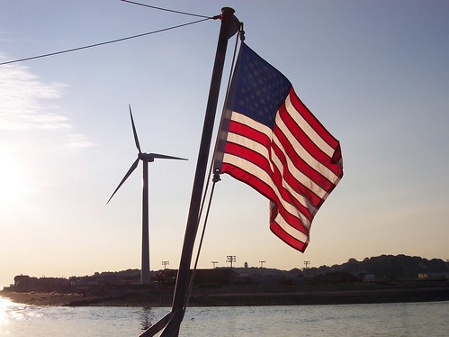 One of Hull's Wind Turbines