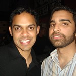 "Rahul and Neil <a style=""margin-left:10px; font-size:0.8em;"" href=""http://www.flickr.com/photos/36521966868@N01/93463517/"" target=""_blank"">@flickr</a>"