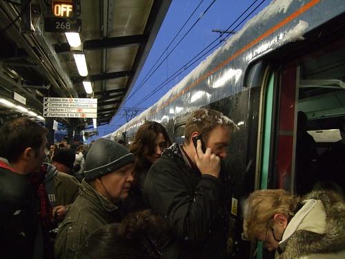 Stratford station, 7.35am